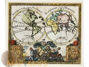 Old World Map Neuer Atlas Von Xxix By Anselm Desing 1733   History Of The Globe