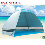Portable Pop Up Beach Tent Sun Shade Shelter Camping Fishing Canopy Outdoor Usa