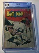 Batman 39. Cgc Graded 8.0 Very Fine. Feb/mar 1947 Golden Age - White Pages