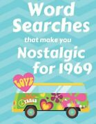 Word Searches That Make You Nostalgic For 1969 40 Large Print Puzzles With New