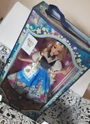Disney Store Uk Alice In Wonderland Mary Blair Limited Edition Alice Doll 💥new