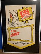 Fands Fuhmann And Schmidt From Shamokin Pa Andldquoso Much More Refreshingandrdquo Framed Sign