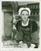 Gertrude Lawrence - Inscribed Photograph Signed Circa 1937