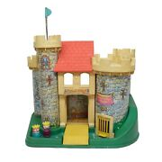 Fisher Price Little People Vintage Play Family Castle 993 King And Princess