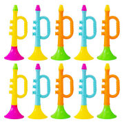 10pcs Funny Versatile Practical Toys Trumpet For Kids Stage Home