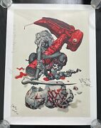 James Jean And David Choe Mangchi Signed By All Members Of The Band