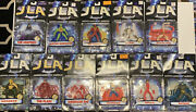 Justice League Of America Jla 1998 11 Figure Lot New On Card Unopened See Photos
