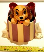 Wdcc Lady And The Tramp A Perfectly Beautiful Little Lady Figurine