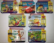 Lot Of 7 Leapfrog My First Leappad Learning System Matching Cartridges And Books
