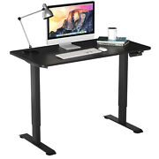 Costway Electric Adjustable Standing Desk Stand Up Workstation W/control