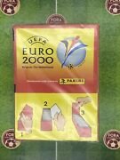 Panini Euro 2000 Belgium Netherlands Cup - Factory Sealed Box Of 100 Packets