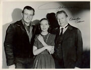 Three Faces West Movie Cast The Refugee - Autographed Signed Photograph