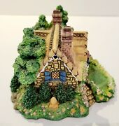 Cherished Teddies Village A Picnic For Two Sculpture Collection Vintage 1995