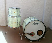 Ludwig Vintage Drums 1960s White Mother Pearl Wmp 22 12 13 15 16 Please Read