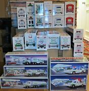 Hess Trucks. Lot Of 44. 1988-2006. Collectible Toys Trucks And