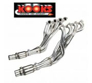 """2″ X 3"""" Kooks Ss Headers / Race Catted Pipes Cats 2016-21 Camaro 6.2 Ss Zl1 Lt1"""
