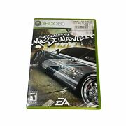 Need For Speed Most Wanted — Complete Manual Included Xbox 360, 2005