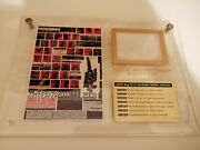 Rare Pride Fc Official 2003 Gp Limited Edition Ring Mat Plaque Ufc Mma