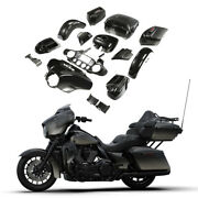 Fairings Bodywork Set Fit For Harley Ultra Limited 2015-up Black Earth Fade Us