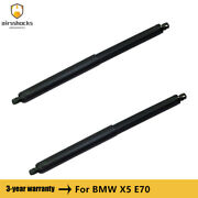 2pcs Rear Tailgate Hatch Shocks Lift Supports For Bmw X5 E70 2007-2013