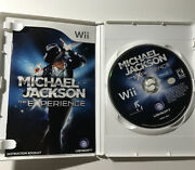 Michael Jackson The Experience Nintendo Wii Game Disc + Case W/ Manual Complete