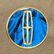 Blue And Gold Lincoln Dayton Wire Wheel Chips Emblems Decals Set Of 4 Size 2.75in
