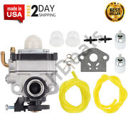 Carburetor Carb For Troy Bilt Ryobi 4 Cycle S430 Replacement T230 T230x Trimmer