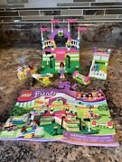 Lego Friends 3942 Heartlake Dog Show Complete With Mia Mini Doll 2 Dogs Manual