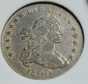 1800 Dotted Date Silver Dollar