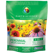 2 Lbs. Perennial All-in-one Wild Flower Mix With Seed, Plant Food And Soil Condi