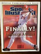 2003 Troy Glaus Anaheim Angels World Series 2002 Sports Illustrated Presents