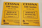 Cessna Aviation Aircraft Service Manuals Volumes 1 And 2 100 Series 1963 To 1968