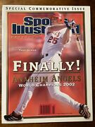 2003 Troy Glaus Anaheim Angels 2002 World Series Sports Illustrated Presents