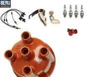 Porsche 356 Tune Up Kit Distributor Cap Rotor Points Plugs And Wires Bosch/beru