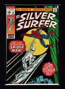 Silver Surfer 14 Vf/nm - Spider-man Appearance - Fantastic Four - Avengers