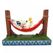 Snoopy And Woodstock Peanuts Jim Shore Figure Just Hanging Around Surprise Japan