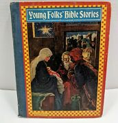 Young Folks' Bible Stories Stories And Pictures 1930s Childrens Holy Christian