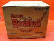 Donruss Baseball Puzzle And Cards Case Of 20 Boxes And 36 Cards In Each