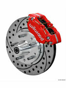 Wilwood Disc Brakes Dynapro Pro Series Front Cross-drilled/slott..140-13343-dr