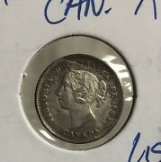 1889 Canada 5 Cent Xf+