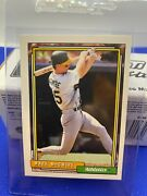 Rare Vintage Mint Condition Mark Mcgwire 1992 Topps 450 Baseball Card