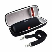 Black Cases For Jbl Charge 4 5 / Pulse 4 Portable Waterproof Bluetooth Speakers