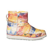 Ugg Ovadia Classic Mini Tie Dye Leather Waterproof Menand039s Boots Size Us 9 New