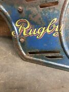 Vintage Rugby Bicycle Chain Guard - Rugby Mfg Co. St.louis Usa