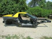 2003 C5 Corvette Z06 - Complete Frame And Rear Body Hardtop Roof Tub Trunk Lid