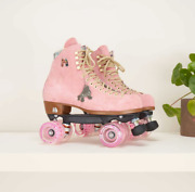 Moxi Lolly Roller Skates Strawberry Pink New Size 6 Women 7-7.5 Discontinued