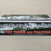 2013 Hess Toy Truck And Tractor Set