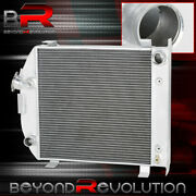 3 Row/core All Aluminum Grill Shell Radiator For 1932 Ford Low Boy Street Rod