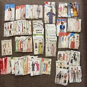 80 Size 12 And 14 Ladies Sewing Patterns Mccalland039s Butterick Simplicity 70s 80s 90s