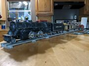 Antique Lionel Engine Track And Metal Cars With Nickel Wheels